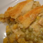 Amazingly Easy, Surprisingly Tasty Broke College Student Chicken Pot Pie - A chicken pot pie is made mostly from canned ingredients you can keep stashed away in your pantry. Even a broke college student can put it together and eat a hot meal in just a few minutes.