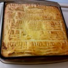 Meme's Potato Kugel - Enjoy this mashed potato kugel for Thanksgivukkah!