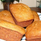 Banana Bread VIII -  A low-cholesterol version, without eggs, this is a traditional recipe with a rich banana taste.