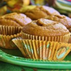Pumpkin Pie Muffins - Transform all the ingredients for pumpkin pie into a muffin for a festive breakfast treat or snack during the holiday season.