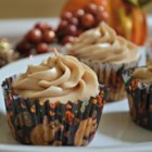 Pumpkin Spice Cupcakes With Cream Cheese Frosting - Pumpkin spice cupcakes topped with cinnamon cream cheese frosting are a festive hit for Halloween and Thanksgiving.