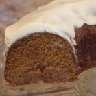 Pumpkin Spice Cake I - This homemade pumpkin spice cake is studded with chopped pecans and baked in a tube pan or Bundt pan. Dust with confectioners' sugar, or add a cream cheese frosting or glaze, if desired.
