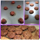 German Chocolate Brownie Cookies - German chocolate cake in a cookie!