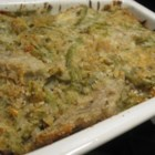 Green Bean Artichoke Casserole - This is a family favorite for the holidays.  It's an upgrade from the standard green bean casserole.  It's easy to make and tastes so good!