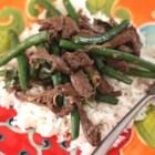 Thai Beef - Marinate flank steak in a mixture of coriander seed, lime juice, and soy sauce then broil it for delicious Thai beef.