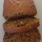 Healthier Pumpkin Bread - Replacing some of the fat with applesauce cuts the calories a bit in this pumpkin recipe that keeps all its flavor.