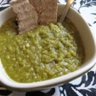 Bissara - Split pea soup is given a North African twist with the addition of paprika, cumin, and a whole chili pepper. This is one of my treasured recipes, it is wonderful on cold days.  This recipe originates from somewhere in North Africa.