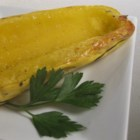 Roasted Delicata - This is a simple recipe for roasted squash halves.