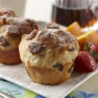 French Toast Sausage Fluffins - All the great flavors of French toast in a fun to eat no-knead fluffin!