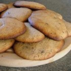 Lemon Chocolate Drop Cookies  - Lemon chocolate chip cookies spiced with cinnamon and cloves and iced with lemon glaze..