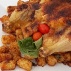 Roast Chicken with Curry Paste - With just 4 simple ingredients, this recipe will make a juicy, curry-scented whole roasted chicken for a nice variation on the usual.