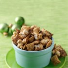 Caramel Cookie Crunch Chex(R) Mix - Whip up an easy, yummy mix that reminds you of caramel corn. Make it for a Chex exchange, a holiday gift or keep it for yourself.