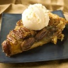 Vinegar Pecan Pie - A favorite pie that is not quite as sweet tasting as the standard pecan pie. Whips up in minutes.