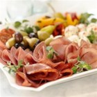 Antipasto Platter from Margherita(R) Meats - A classic Italian first course done lighter, easier and more delicious. Serve as a traditional first course; add taste and beauty to a buffet.