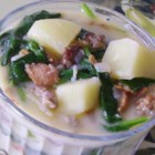 Better than Zuppa Toscana - This version of the famous kale and sausage soup from the Italian region of Tuscany gets a boost from bacon.