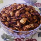 Toasted Pumpkin Seeds Teriyaki Cajun Style - Start with completely dry fresh pumpkin seeds and season with a savory mixture of butter and Cajun spices with a bit of teriyaki sauce to make a budget-friendly snack that's great for parties or family night.