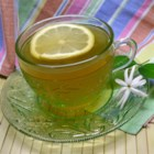 Throat Coat Tea - Jasmine green tea, lemon, and honey come together to help soothe your throat while providing a tasty hot beverage in this recipe.
