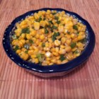 Corn and Jalapenos - Corn and jalapeno pepper work well together in this side dish idea.