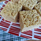 Salted Caramel Marshmallow Crispy Treats (Gluten Free) - These gluten-free lightly salted caramel marshmallow crispy rice treats are a sweet and salty delight!
