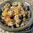 Grandma Nancy's Apricot Almond Granola - Crunchy, sweet, and buttery, this apricot almond granola is packed with flavor and great as a snack or breakfast cereal.