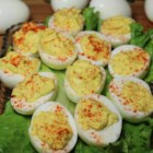 Sweet Deviled Eggs - A spoonful of sugar gives these classic deviled eggs a surprisingly delicious sweetness.