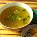Whitney's Egg Flower Soup - Sesame oil adds a lovely aroma to this Chinese soup.