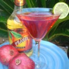 Pomegranate Martini - Vanilla vodka, peach schnapps, and pomegranate juice are the key ingredients of this sweet drink.