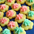 Holiday Butter Cookies - These are excellent butter cookies that will hold your holiday stamp well and not change size when baking. Its our family secret to you!