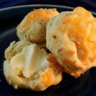 Canadian Tea Biscuits - A delicious Cheddar cheese and chive savory tea biscuit is perfect for cool Canadian afternoons.