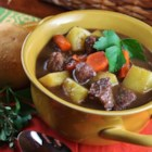 Jennifer's Burgundy Beef Stew - This beef stew recipe will deliver great warm bowls of comfort food for you and your family when the cold winter weather makes such things a necessity.