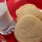 Nutmeg Refrigerator Cookies - Crisp, sweet and chewy--a basic refrigerator cookie.