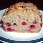 Cranberry Cinnamon Flax Beer Bread - Cranberries, flax meal, and cinnamon give this beer bread a new heartier twist that is even more delicious served with cream cheese.