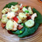 Joy's Green Banana Salad - A recipe from my kitchen when I was in Puerto Rico made with green bananas, sweet onion and bacon in a vinegar dressing. I have served it to my North American friends and they love it as well. It is great to serve instead of the same ol' potato salad. Dare to try something new?