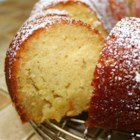 Kentucky Butter Cake - Moist and buttery cake made from readily available ingredients with a luscious butter sauce.