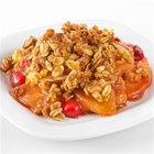 Cranberry Apple Crisp - The flavor combinations of tart and sweet blended with warm spices makes this dish one to remember. Made with Truvia(R) Baking Blend, this crisp has 25% fewer calories and 55% less sugar than the full-sugar version.