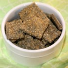 Chia Seed Chips - Make your own crackers using chia seeds and whole wheat flour for a crispy and easy treat.