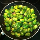 Amazing Brussels Sprouts - Brussels sprouts are cooked in a flavorful teriyaki sauce that will convert all people to loving Brussels sprouts.