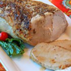Dad's Basic Moist Pork Roast - Roasting a pork roast straight from the refrigerator allows you to create a flavorful crust while keeping the center juicy.