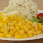 Sweet Corn on The Cob Without the Cob - Season a can of sweet corn kernels with butter, sugar, salt, and pepper to achieve the taste of summertime corn on the cob regardless of season.