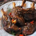 Jinx-Proof Braised Lamb Shanks - After a long, slow roast in an aromatic, deeply flavored broth, these lamb shanks are sure to get rave reviews.