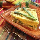 Quiche a la Benedict - This delicious asparagus and Canadian bacon quiche mimics the flavor of eggs Benedict, but it's so much easier. For a true eggs Benedict flavor, top with Hollandaise sauce.