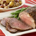 Herbed Prime Rib - An impressive roast for holiday parties and other special occasions. Coat with a seasoning rub and roast slowly for tender flavorful meat.