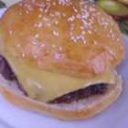 Onion Ranch Burgers - Simple burgers for the grill using ranch dressing mix and dry onion soup mix for a flavor-packed result.