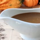 Make-Ahead Turkey Gravy with Porcini Mushrooms and Marsala Wine - With this make-ahead gravy on the menu, there's no scrambling to make gravy when the turkey comes out of the oven.