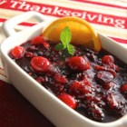 Patti's Triple Cranberry Sauce - Fresh and dried cranberries cook with cranberry juice and orange flavors for a bright, jewel-like cranberry sauce they'll all be talking about. Serve it in a beautiful glass dish or compote.