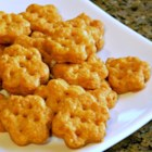Chef John's Cheesy Crackers - Make your own cheese crackers at home and enjoy their fresh, satisfying crunch on salads, in soup, or just as a snack.