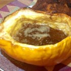 Gingered Acorn Squash - Acorn squash is flavored with a mixture of orange juice, ginger and nutmeg, and then baked until tender. An elegant dish that is almost too easy to make.