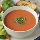 "Contadina(R) ""Creamy"" Tomato Soup - Rich, homemade tomato soup with cannellini beans, shallots, and a bit of heat is blended for a creamy, delicious bowlful that's ready to serve in less than 30 minutes."