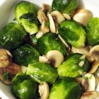 Brussels Sprouts with Mushrooms - Boiled Brussels sprouts tossed with sauteed mushroom and a sprinkling of parsley and lemon make a delicious everyday side dish.