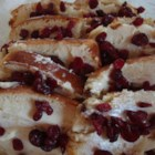 Cranberry Bread Pudding - Cranberries and raisins are folded into a sweet bread pudding batter for a colorful dessert for holidays and special occasions.